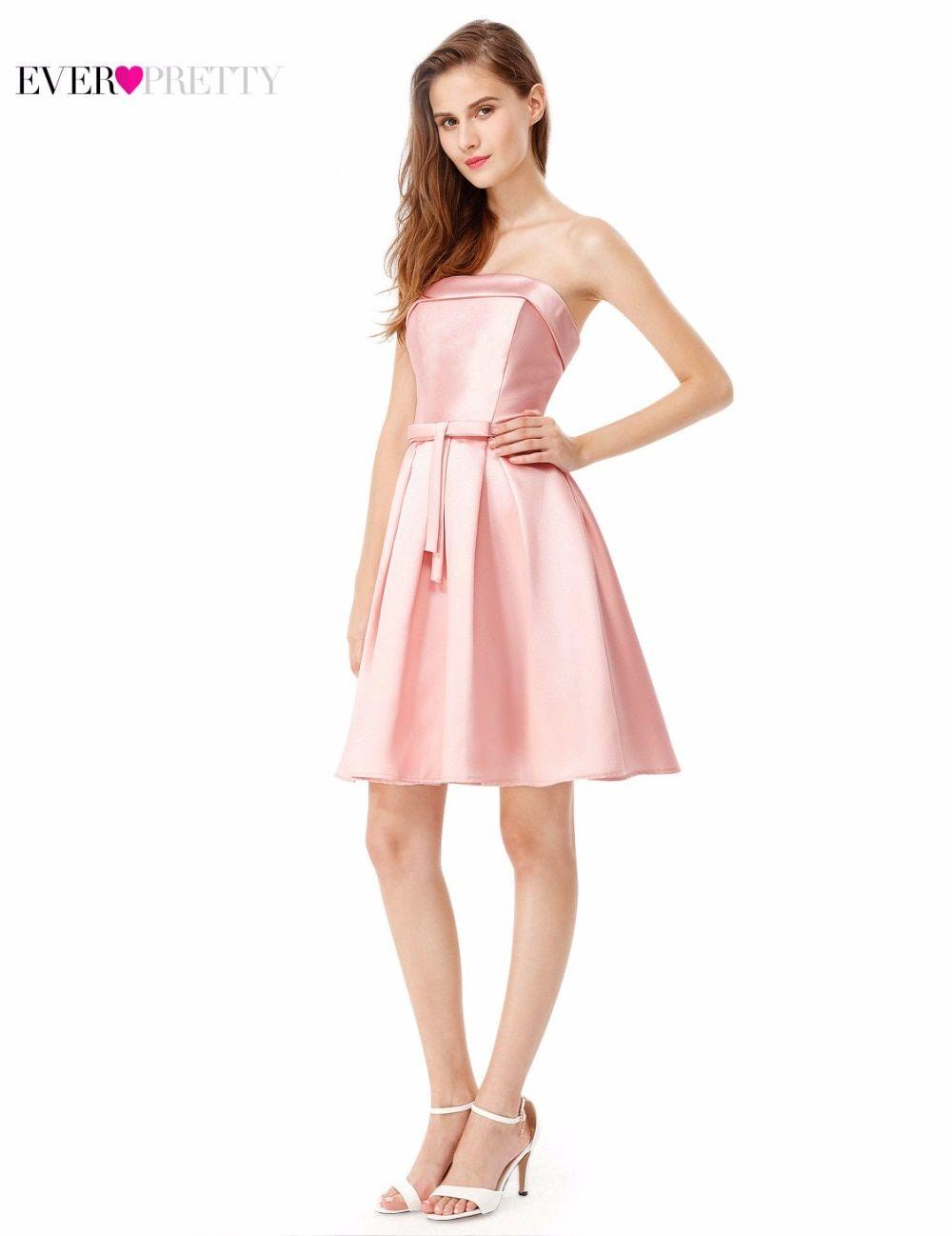 73eb1497d08e Cocktail Dress Ever Pretty EP05491PE Peach Elegant High Neck Sleeveless  Short Sexy V-Neck Back Cocktail Dress 2017 - TakoFashion - Women's Clothing  ...