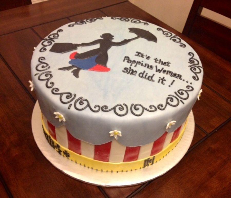 Disney Party Ideas: Mary Poppins Party Cake