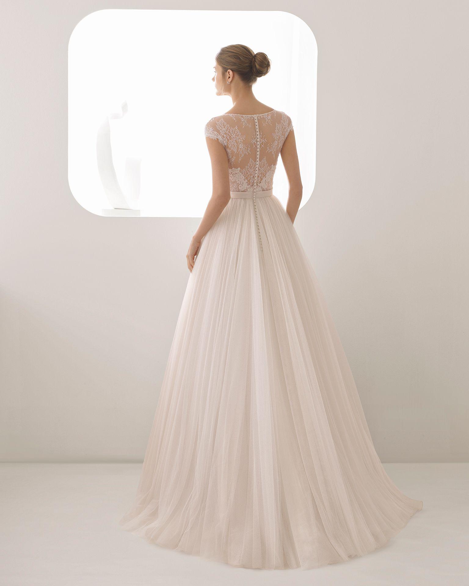ALICIA - Hochzeit 2018. Rosa Clará Kollektion | Rosa clará, Tüll und ...