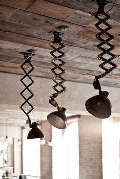 lamparas vintage de techo