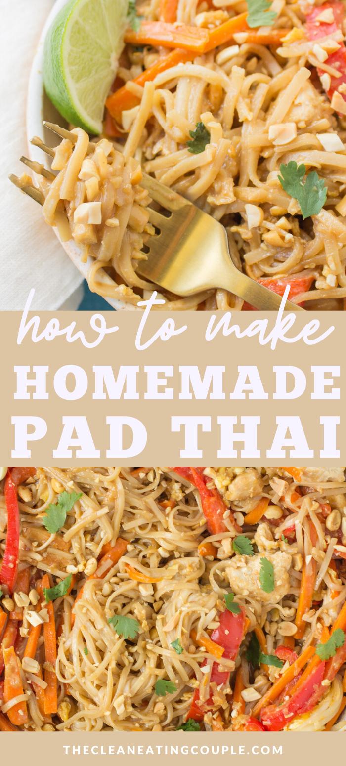 How to Make Homemade Pad Thai