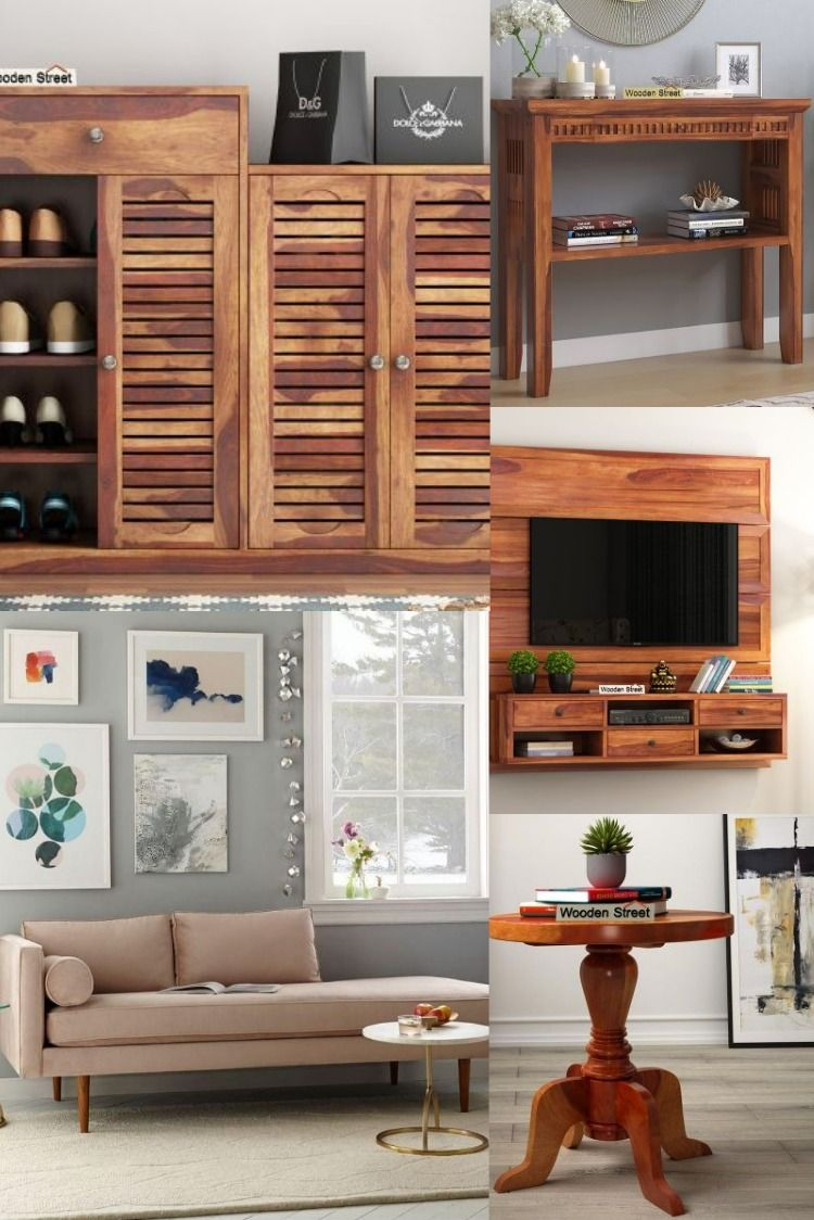 Pune In 2020 Living Room Furniture Home Wooden Street