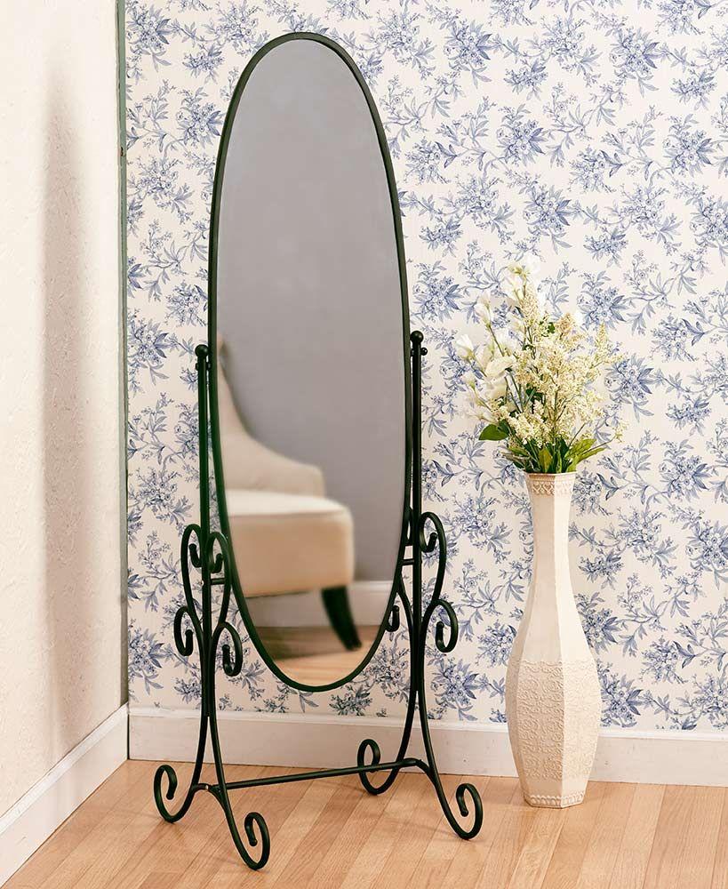 "58"" Metal Floor Mirrors Floor mirror, Metal floor, Home"