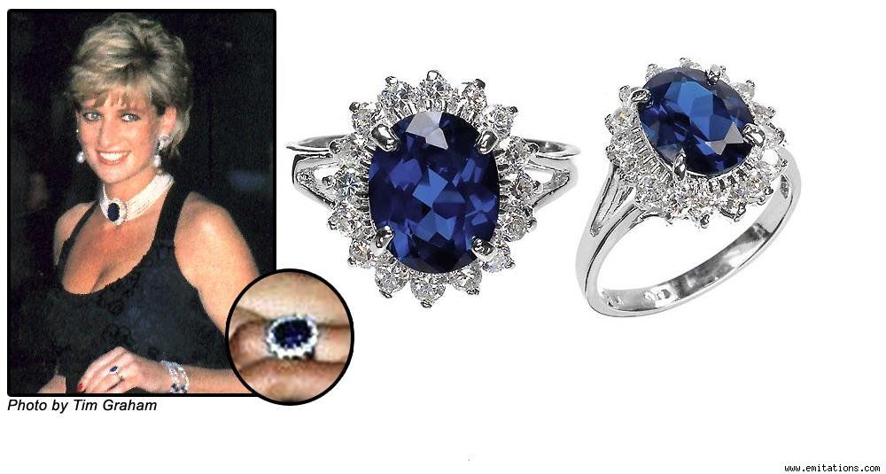 Princess Diana S Engagement Ring Collette Vickers Lewis This