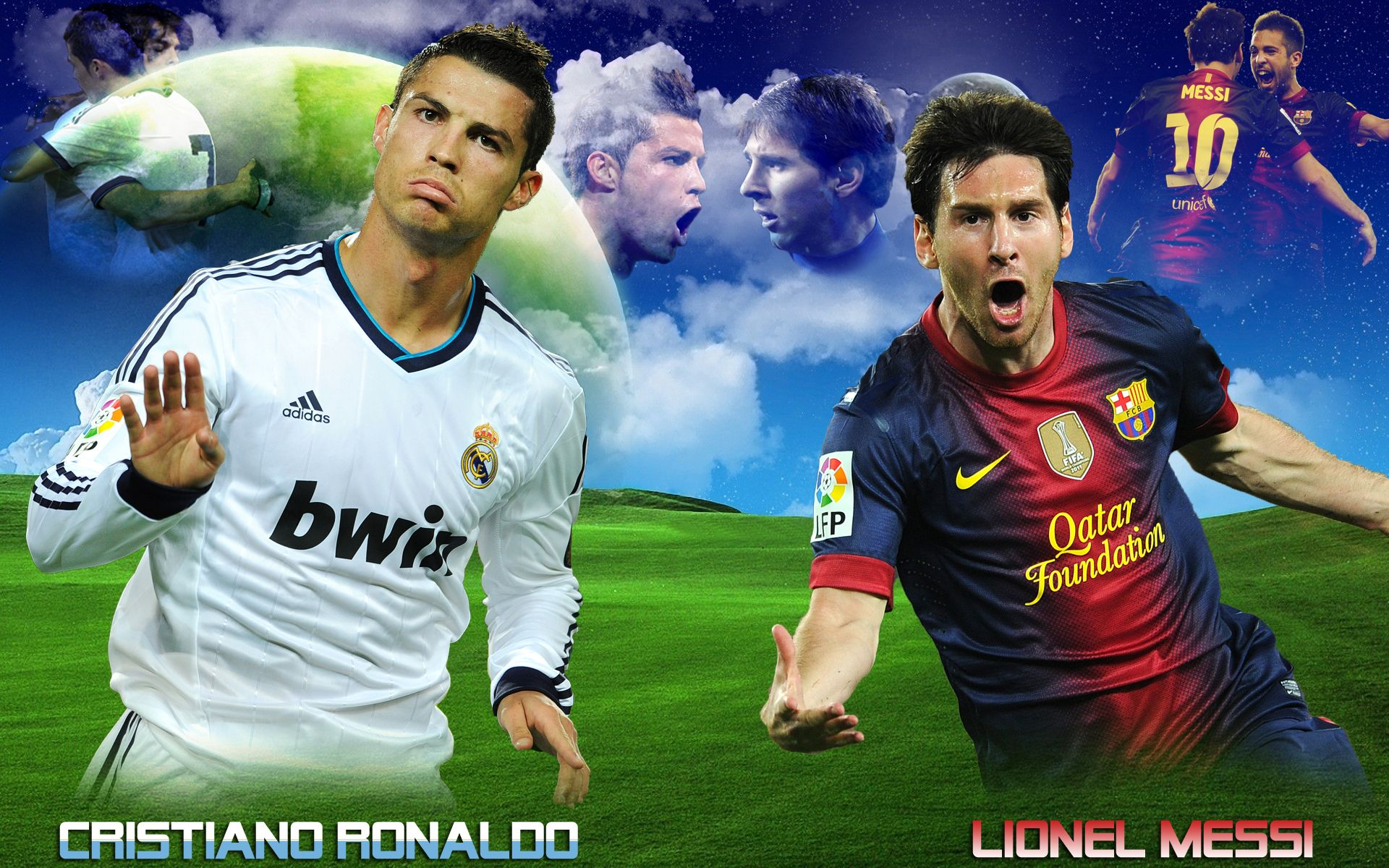 cristiano ronaldo soccer goal vs messi | subho | Pinterest ...