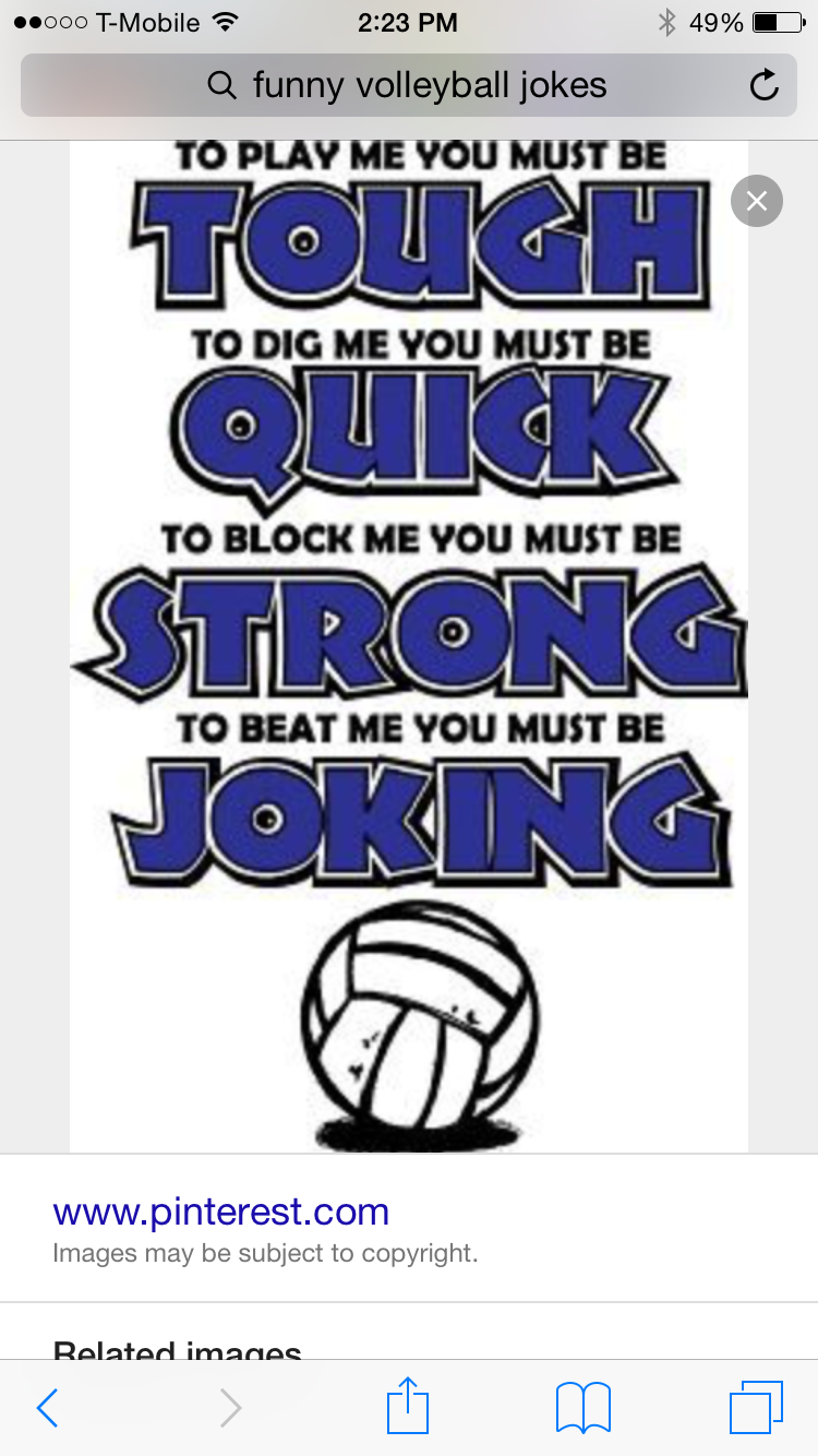 Pin By Lauren Cano On Volleyball Volleyball Quotes Volleyball Humor Volleyball Jokes