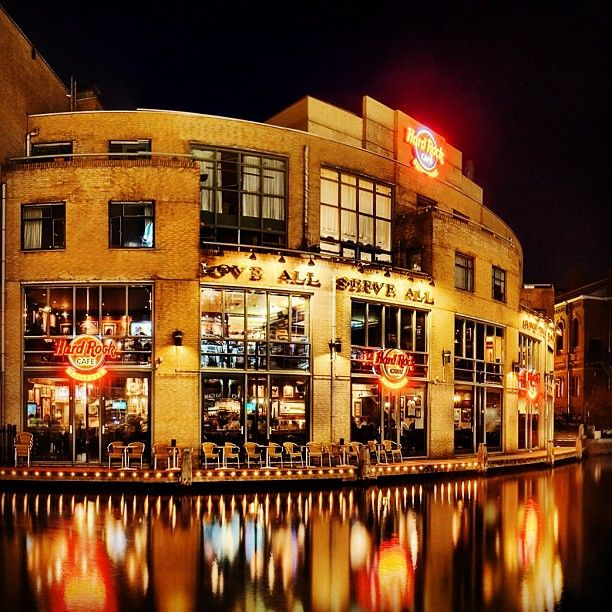 Leidseplein Canal Hardrockcafe Amsterdam Reisen Niederlande Cafe