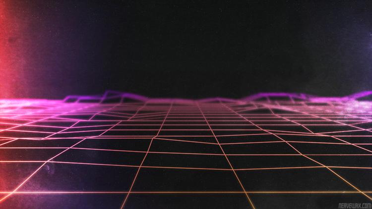 Retro Gallery Archive (Full Size Neon wallpaper, Retro