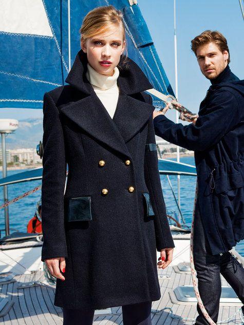 Navy Peacoat 10/2014 #125 | Pinterest | Schnittmuster jacke, Mäntel ...