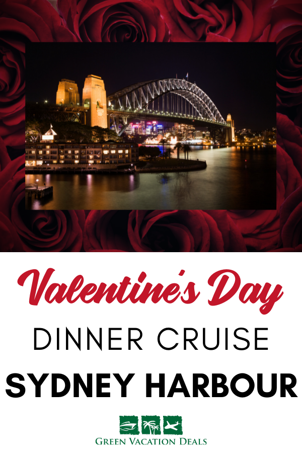 Valentine's Day Dinner Cruise On Sydney Harbour Green