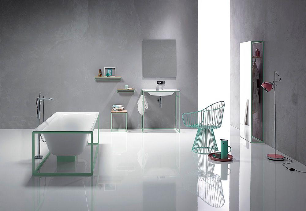 Bettelux Shape, la colección de Dominik Tesseraux y Bette para baños modernos