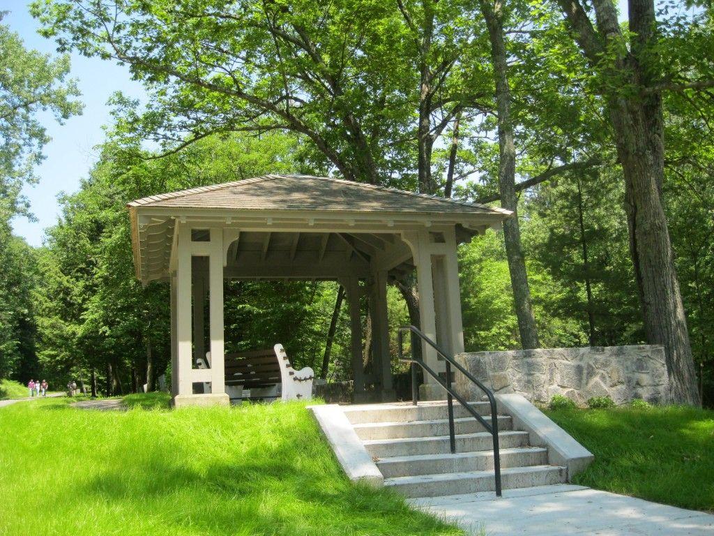 Spa Park Pavilion Park Pavilion Gazebo Saratoga Spa