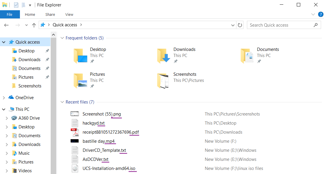 How To Show And Hide File Extensions In Windows 10 In 2020 Windows 10 File Extension Windows 10 Operating System