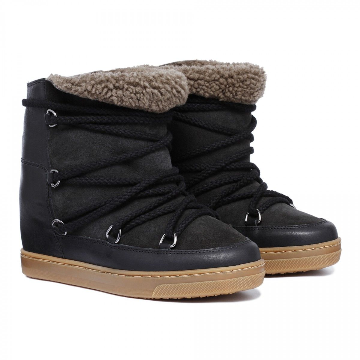 Nowles concealed wedge boots