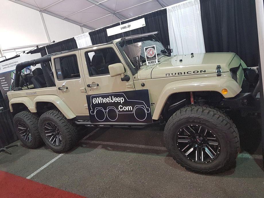 6 Wheeler Jeep Wrangler Custom Trucks Custom Jeep Jeep Jamboree