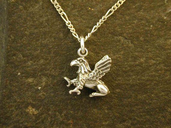 Sterling silver gargoyle pendant on a sterling by peteconder sterling silver gargoyle pendant on a sterling by peteconder 3200 aloadofball Gallery