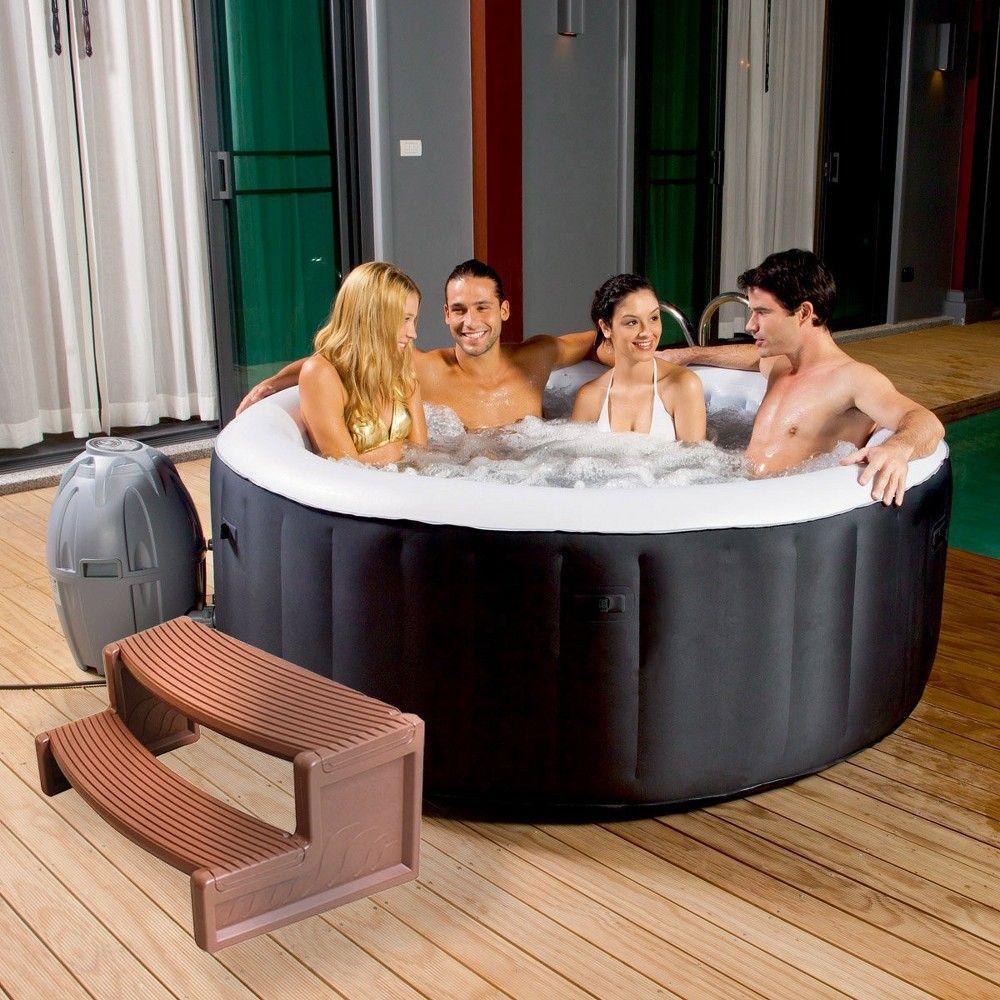 Confer Plastics Resin Multi Purpose Spa And Hot Tub Handi Step Steps Medium Red In 2021 Spa Hot Tubs Hot Tub Hot Tub Steps