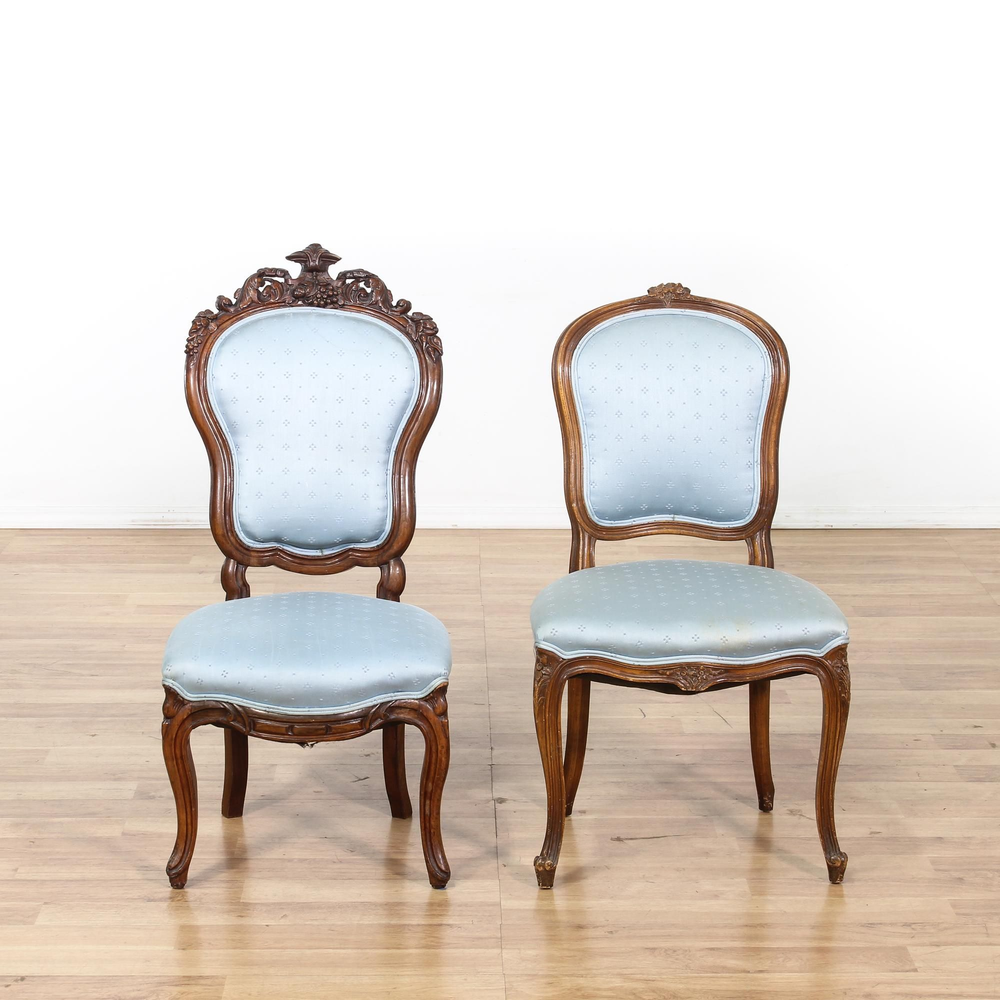 This Pair Of Accent Chairs Is Featured In A Solid