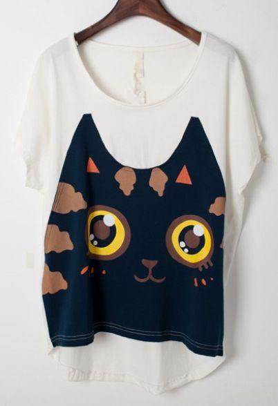 Cute kitty shirt