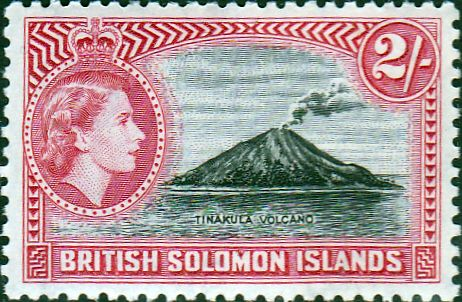 Postage Stamps Solomon Island 1956 SG 90 Henderson Airfield Fine Mint Scott 97 For Sale A Beautiful Stamp Take a look!