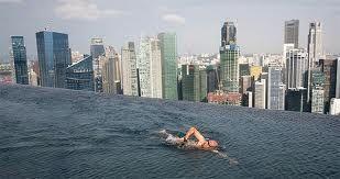 piscina hotel marina bay sands singapore -