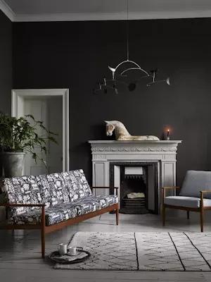 خلفيات ليفنج In 2021 Living Room Grey Black Living Room Living Room Colors