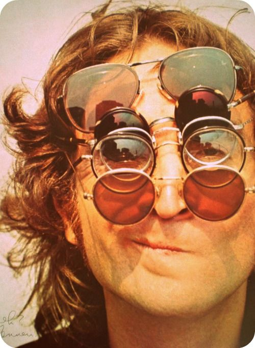 The Magic Of The Internet The Beatles John Lennon John Lennon Sunglasses