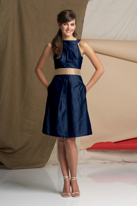 Navy And Gold Bridesmaid Dress Or Just The Style With Whatever