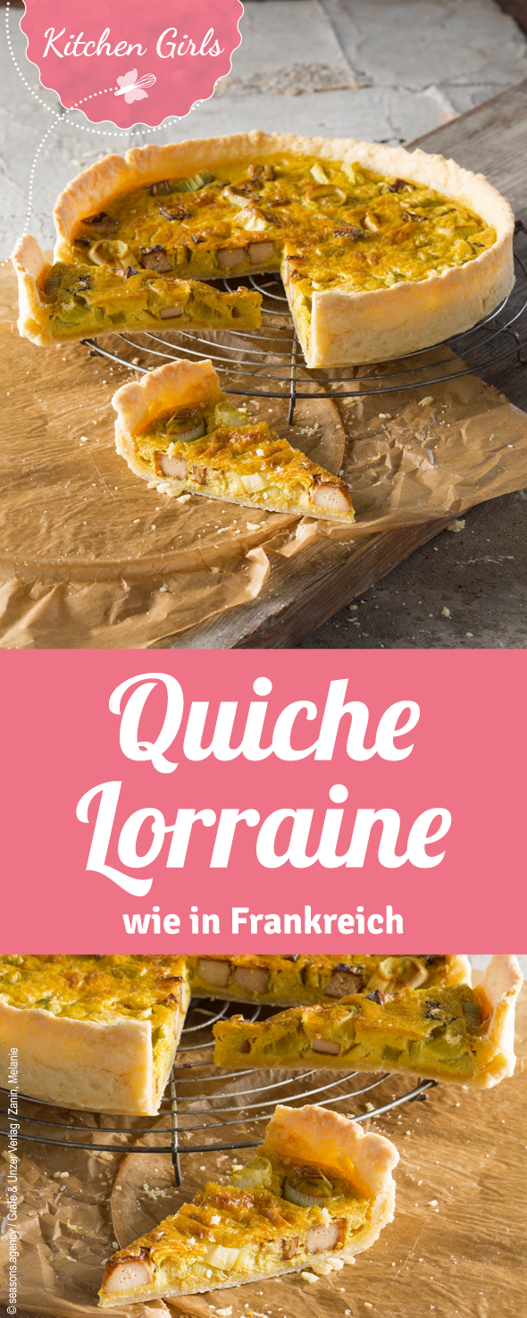 quiche lorraine rezept in 2019 kitchen girls pinterest quiche lorraine quiche und rezepte. Black Bedroom Furniture Sets. Home Design Ideas