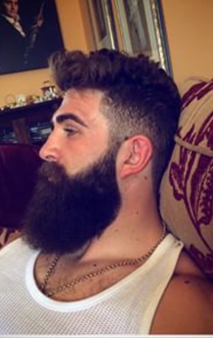 Gorgeous Full One Sexybeardboy Hairychest Mustache Wax - Mens hairstyle zafer