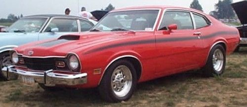 Mercury Comet Gt David S Was Orange And Black And Jacked Up With