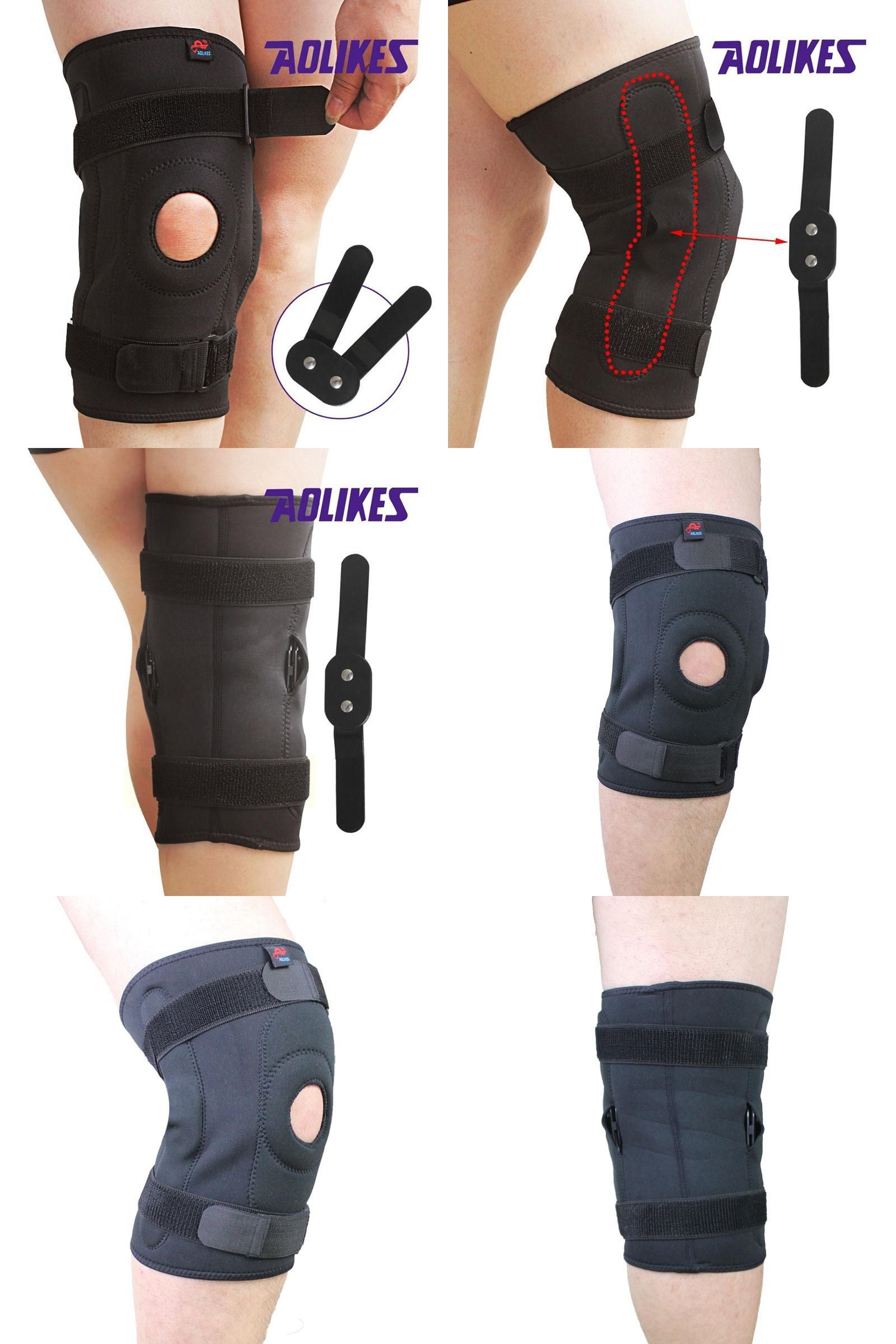 Visit To Buy Sports Safety Knee Pads Double Steel Plate Knee Support Guard Exercise Training Sports Riding Cyclin Safety Knee Pads Sports Safety Knee Support