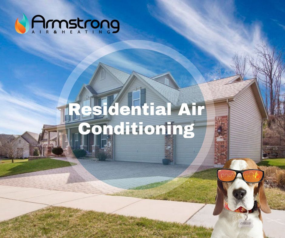 Residential Air Conditioning Armstrong Air And Heating Service Installation Https Www Yout Residential Air Conditioning Heating Services Heating Company