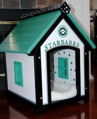 Dog House Cute But Non Starbucks Theme Please Lol Cool Dog