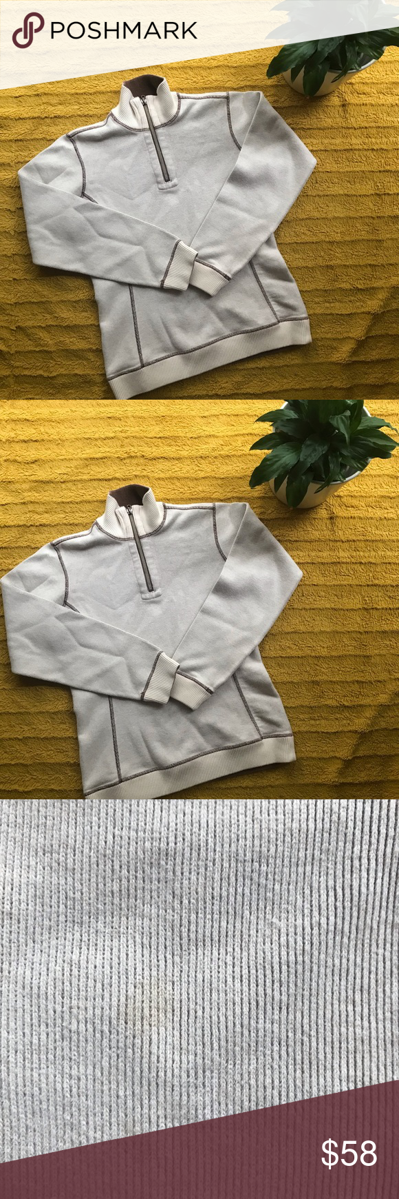 Tommy Bahama Quarter Zip Sweater Size 4 6 S M Tommy Bahama Quarter Zip Sweater Size 4 6 Or S M Two Quarter Zip Sweater Tommy Bahama Shirts Sweater Sizes
