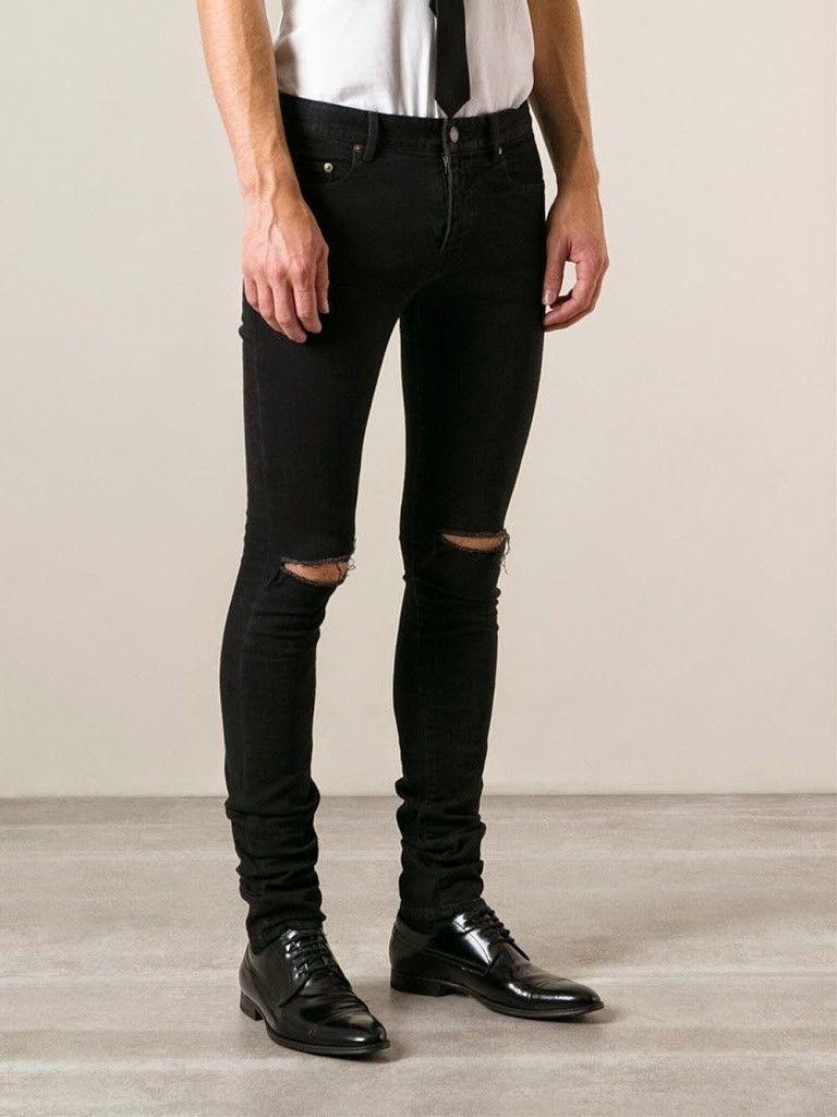 Cómo llevar pantalones rotos para hombre #pantalones #rotos #desgastados # hombres #chicos