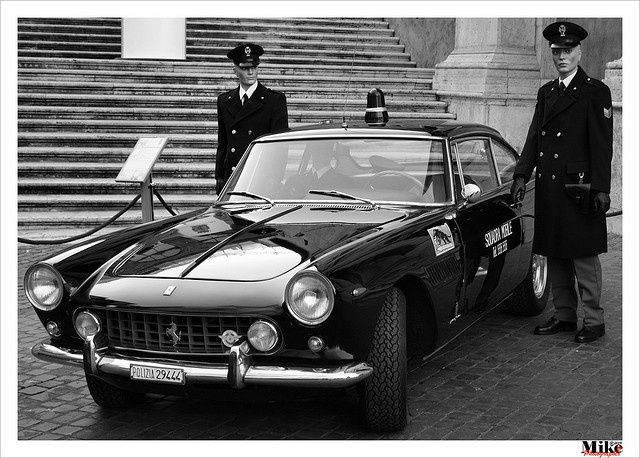 This 1962 Ferrari 250 Gte Police Car Is Beyond Wonderful Police