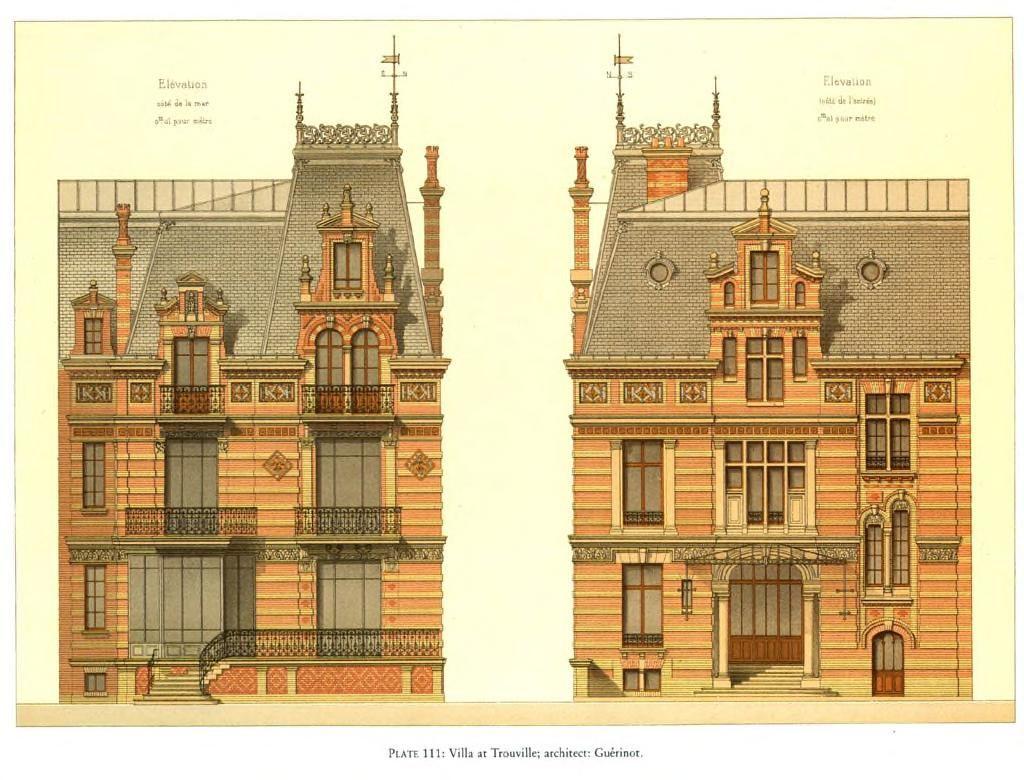 Design for a Villa, Trouville