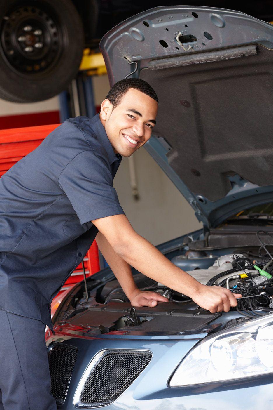 Older Vehicle Maintenance Automotive repair shop, Car