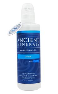 Magnesium Oil incorporating the unique synergistic benefits of MSM and magnesium. Ancient Minerals Magnesium Oil Ultra – 8oz #Magnesium