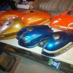 A-HD Aermacchi gas tanks, Harley Davidson AMF rare