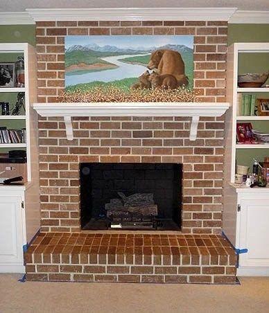 How To Make Brick Look Like Brick Again Interior Painted Brick