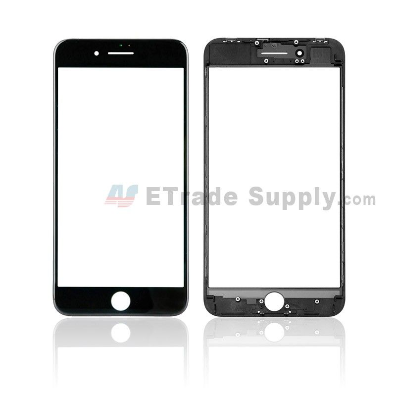 Apple Iphone 8 Plus Glass Lens With Frame Black Grade S Iphone Apple Iphone Iphone 8 Plus