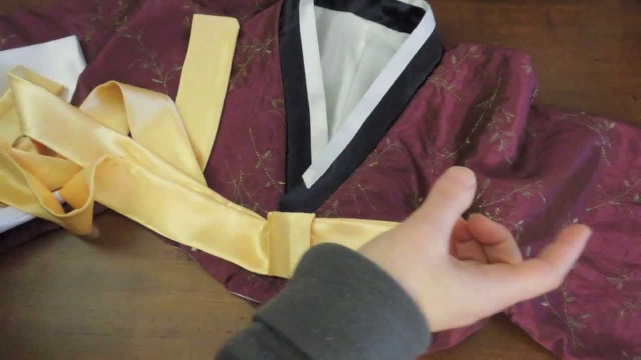 Korean Hanbok Jeogori Top Sewing Tutorial | Sewing: Costumes ...