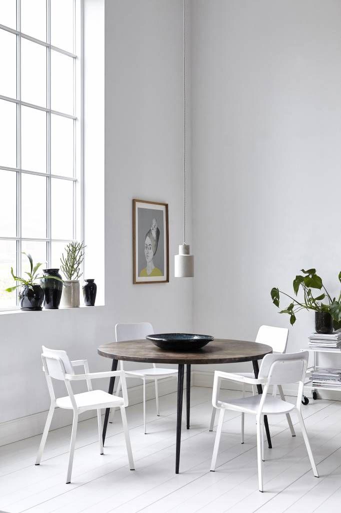 Witte Houten Ronde Eettafel.Witte Ronde Eettafel Elegant Eettafel Provence X Cm Grijs Eikenwit