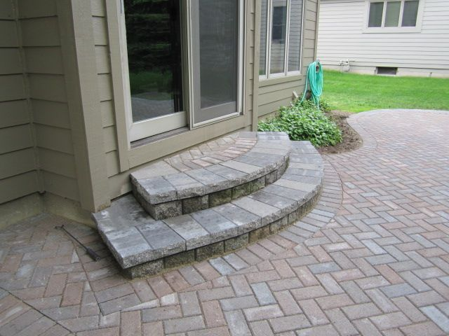 Elevated Brick Pavers Patio Is Restored Redesigned And Upgraded | Paver Patio Steps Designs | Retaining Wall Pergola | Landscaping | Building | Easy Diy | Stair