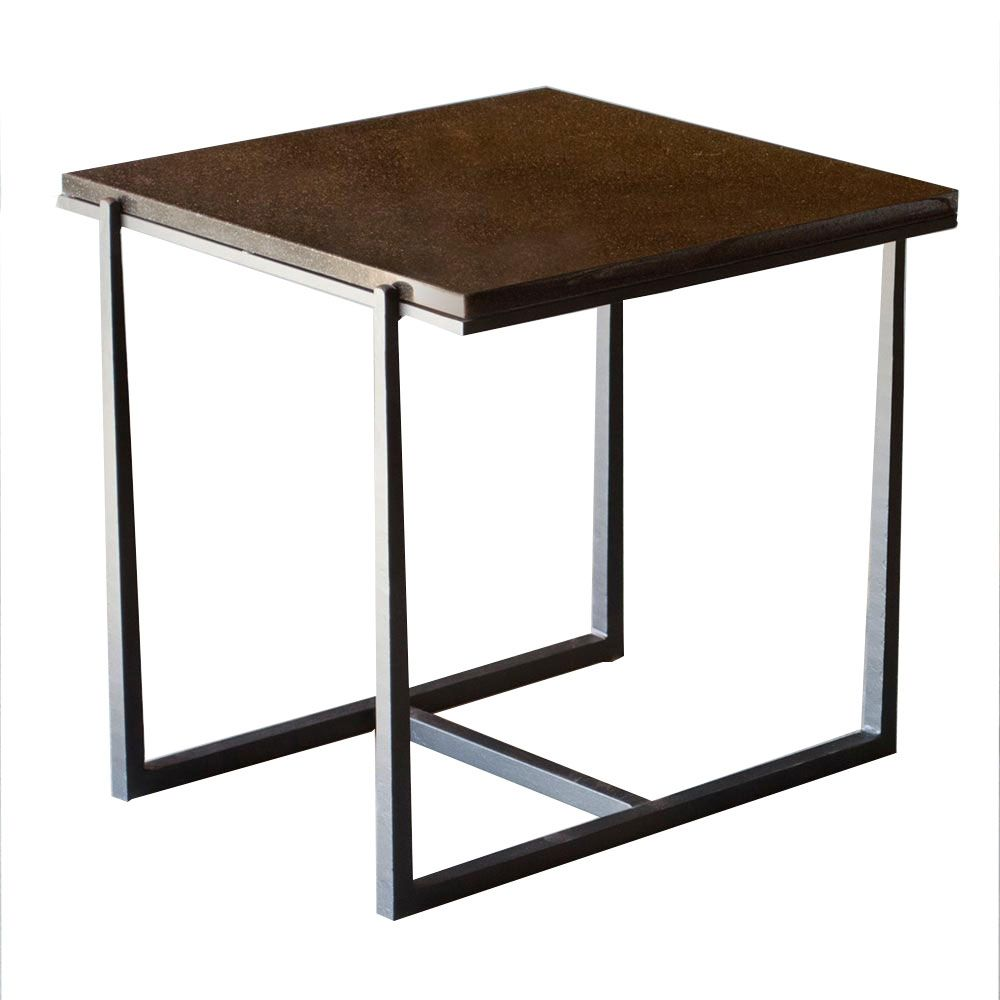 Cooper 24 Square Wrought Iron End Table Buy It For Life End