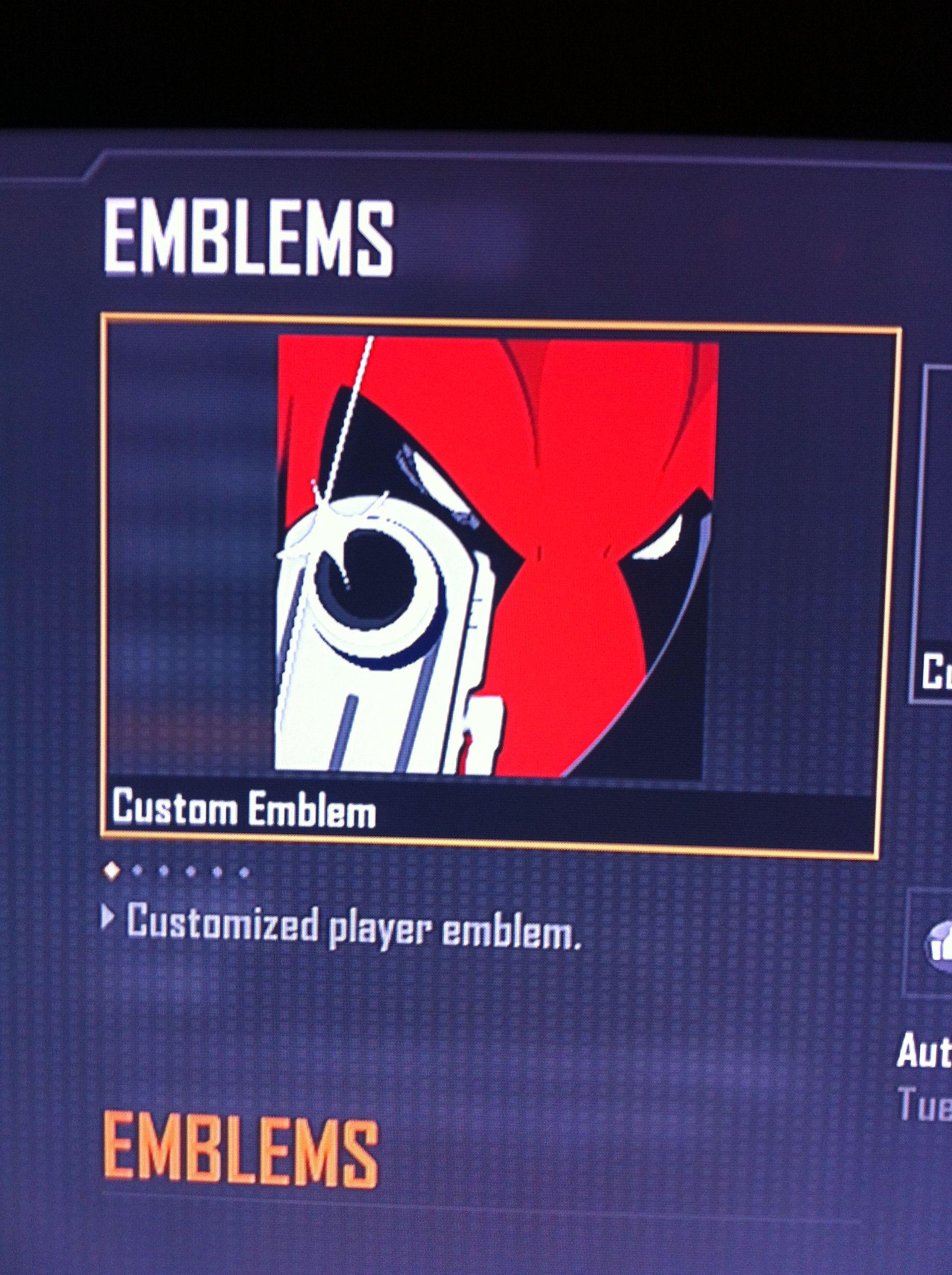 Deadpool Cod Black Ops 2 Emblem Xbox 360 Cold Cathode Lighting 4