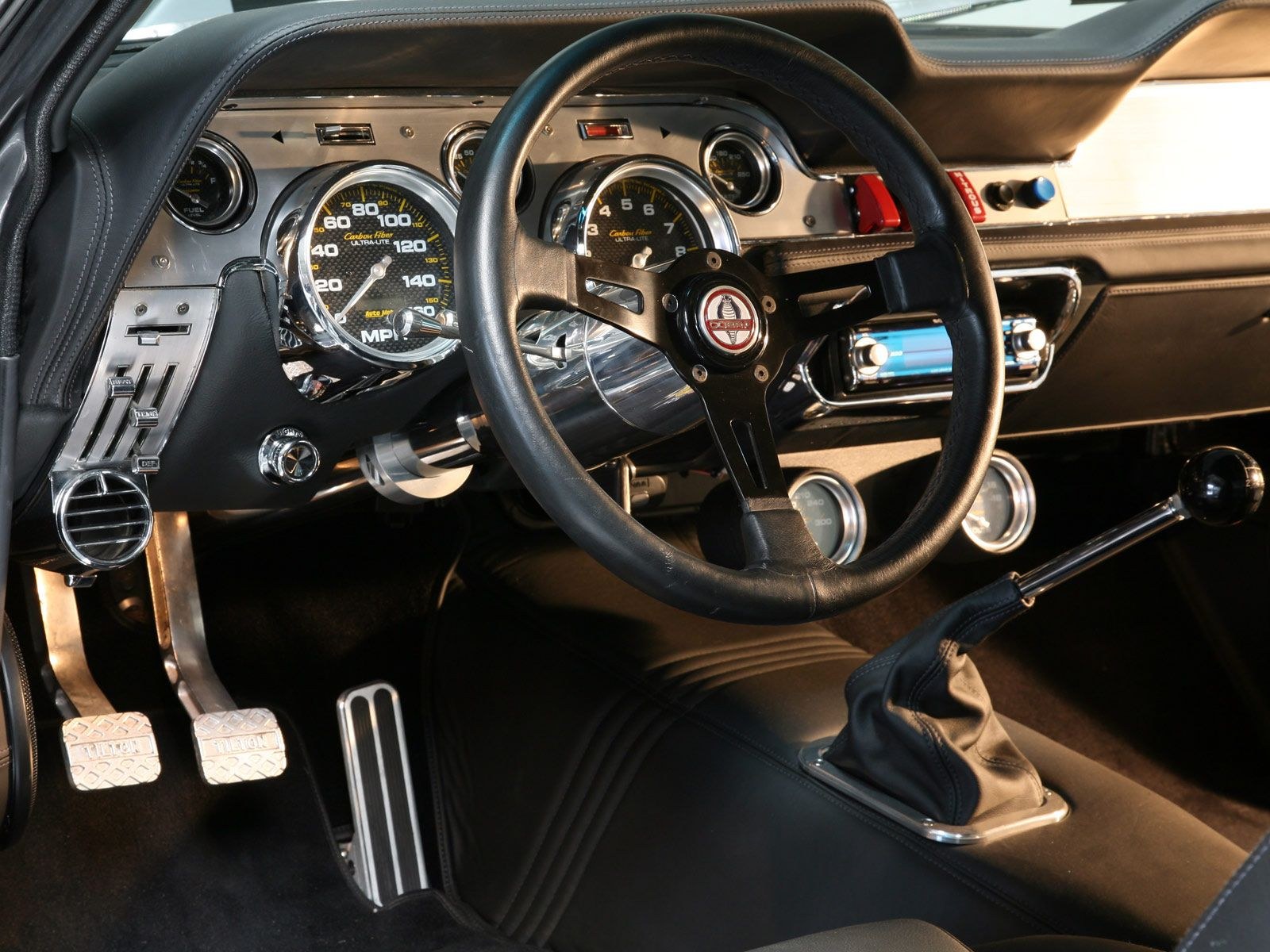 Mustang shelby gt500 eleanor interior dashboard