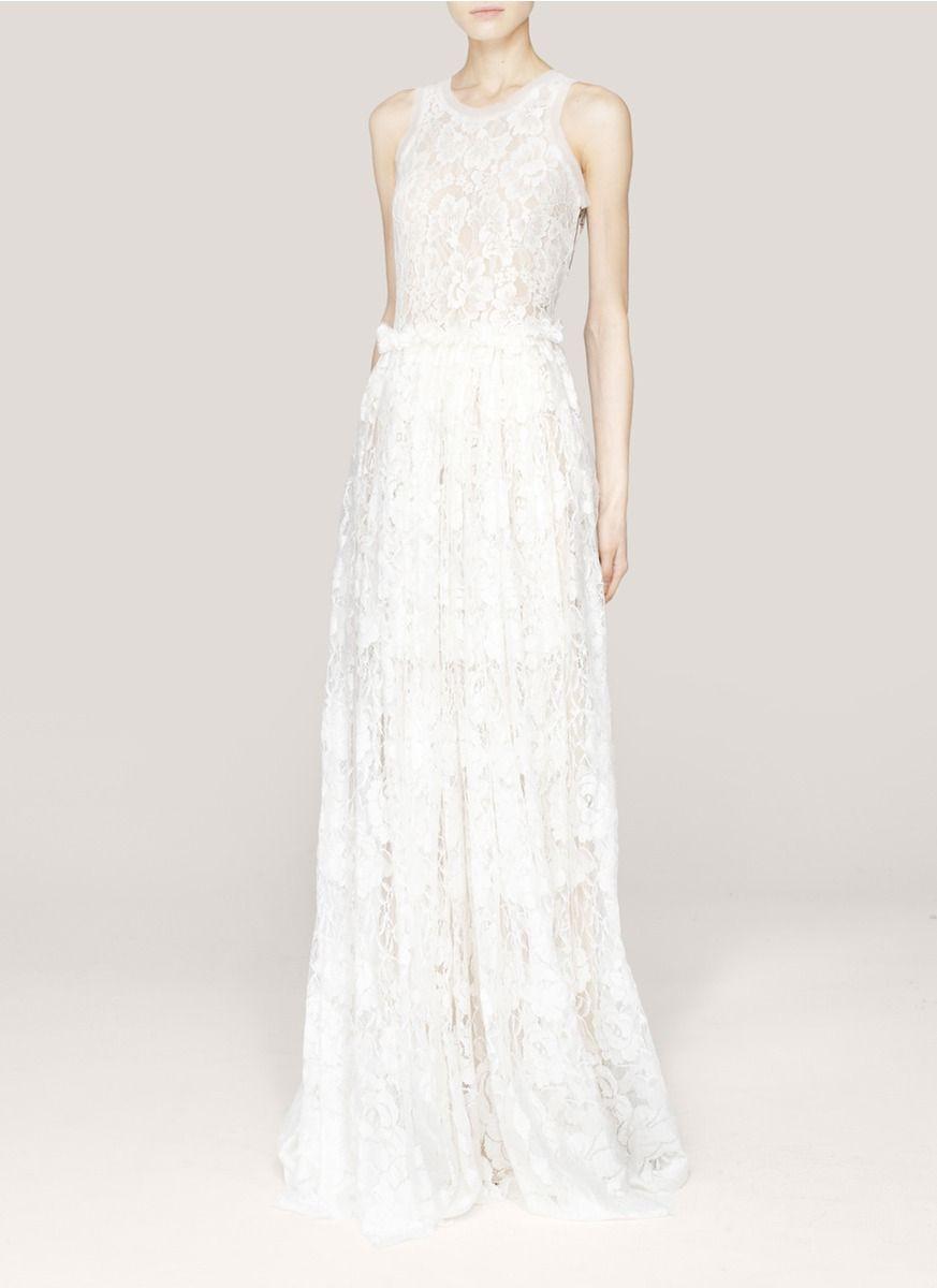 Lanvin Lace Wedding Gown
